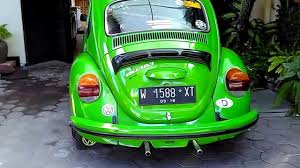 volkswagen green walk around my 1974 cliff green volkswagen super beetle youtube