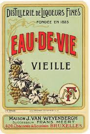 Liquor Signs by French Liquor Label 1920s 1920s Bday Pinterest Liquor