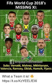 World Cup Memes - fifa world cup 2018 s missing xi 9 8 15 27 originaltroflfootbal