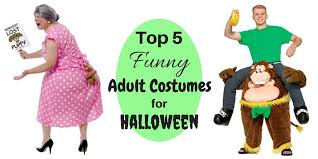 top 5 funny costumes for halloween