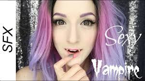3 minute vampire halloween costume makeup tutorial youtube