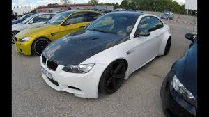Bmw M3 Colour Bmw M3 E92 Coupe Wide Body Kit Carbon Hood White Colour