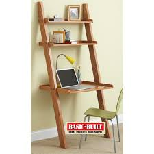 Wooden Ladder Bookshelf Plans by Knockdown Ladder Desk Woodworking Plan U2014 While Browsing In A