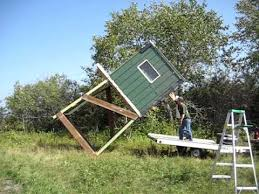 Building A Box Blind Roseau Deer Stand Setup Youtube