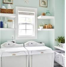 How To Decorate Your Laundry Room Laundry Room Storage Shelves As Room Decor Home Interiors