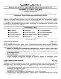 resume example industrial engineering careerperfectcom senior