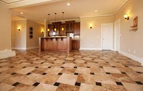 cool and opulent flooring ideas for basement floor tile