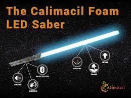 the calimacil foam led saber kickstarter video youtube
