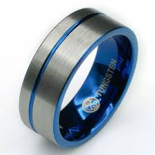 midnight blue wedding band tungsten carbide wedding bands free us shipping manly bands