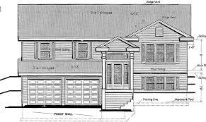 split entry floor plans 11 genius split entry house plans house plans 24100