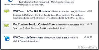 tutorial asp net core 2 0 asp net core mvc controls toolkit complete tutorial on dotnetcurry