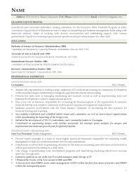 mba finance marketing resume cv biodata curriculum vitae sample