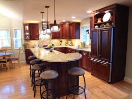 2 level kitchen island buffalo grove kitchen with 2 tier island traditional kitchen