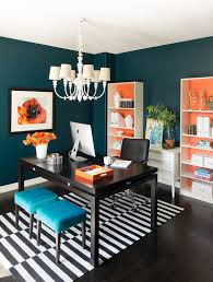 cathy schwabe trend 25 vibrant home offices with bold orange brilliance