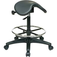Office Chair Leather Design Ideas Saddle Seat Office Chair D66 On Wonderful Home Design Ideas With