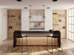 kitchens with open shelving ideas decorating ideas light wood scandinavian kitchen open shelving