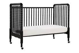 jenny lind 3 in 1 convertible crib in ebony black davinci cribs