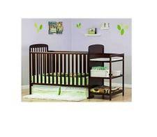 4 in 1 convertible crib baby nursery changing table 3 drawers
