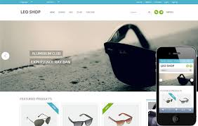 leoshop is a flat ecommerce responsive web design template you