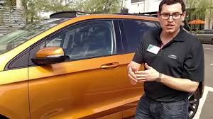 Ford Escape Electric - 2015 ford edge sport walk around youtube