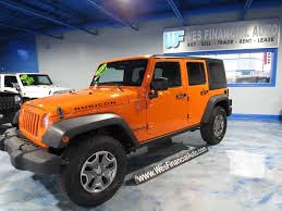 orange jeep wrangler unlimited for sale 2013 jeep wrangler unlimited rubicon in dearborn heights mi wes