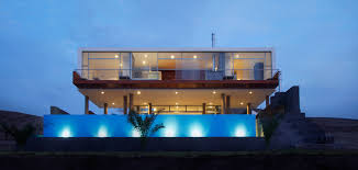 Ultra Modern Houses This Contemporary Beach House Near Lima Peru Is A Young Couple U0027s