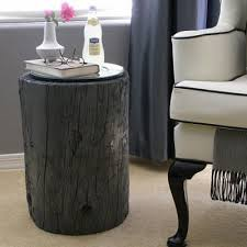 Wood Stump Coffee Table Tree Stump Side Table How To Make A Table Tip Junkie