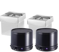 craig home theater system craig set of 2 portable bluetooth speakers in gift box page 1
