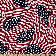 Red White And Blue Home Decor Patriotic Flags Red White Blue Discount Designer Fabric Fabric Com
