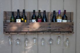 free woodworking plans wine rack with built in wine glass rack