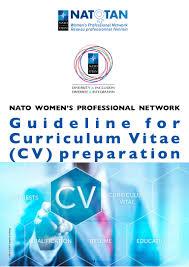 Professional Resume Guidelines Guidelines For Cv Preparation Nato