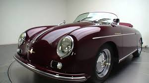 old porsche speedster 135403 1956 porsche 356 speedster replica youtube