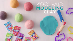 kool aid modeling clay kraft recipes