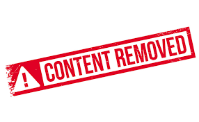 the dmca removal process and what content a dmca notice can remove