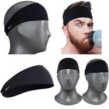headbands for men men elastic headband ebay