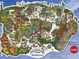 Six Flags Locations Popular 165 List Six Flags Magic Mountain Map