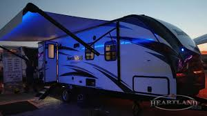 Trail Pop Up Awning North Trail Awning Colors Heartland Rvs Youtube