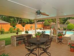 Ideas For Backyard Patio Patio Cover Designs Ideas Pictures Great Day Improvements