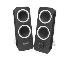 Cool Looking Speakers Logitech Z200 Stereo Speakers With Bass Control