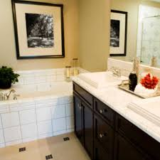 Small Bathroom Ideas For Apartments by White Ceramic Subway Tile Wall Small Apartment Bathroom Decorating