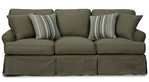 Slipcovers For Loveseats With Two Cushions Beachcrest Home Coral Gables T Cushion Sofa Slipcover U0026 Reviews