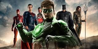 Justice League Justice League Post Credits Included 2 Green Lanterns