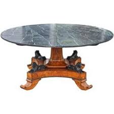 neoclassical style dolphin center or neoclassical style dolphin center or dining table for sale at 1stdibs