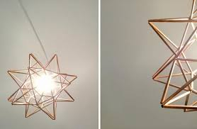 monrovian light diy copper moravian pendant light fixture the design
