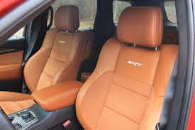Grand Cherokee Srt Interior The 2017 Grand Cherokee Srt Is In A Lane Of Its Own The Drive