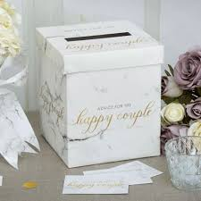 wedding wishes box wedding wishes box scripted marble weddings