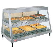 heated food display warmer cabinet case glo ray heated display case food merchandiser