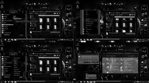 black themes windows 8 windows 7 themes black ultra dark by customizewin7 on deviantart
