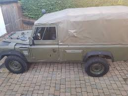 land rover wolf landrover wolf 110 soft top with bridging in ringwood hampshire
