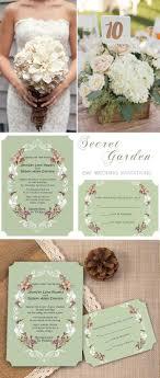 garden wedding invitations top 8 garden themed wedding invitation cards at